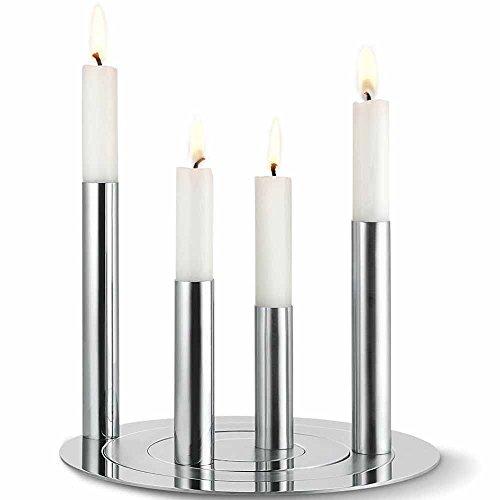 Kerzenleuchter-Set RONDA 4tlg. - (164018)