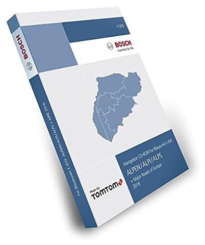 Teleatlas Tele Atlas CD Alpen/Alps/Alpi + MRE 2016 TP E (EX)