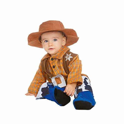 Festartikel Müller Kinder Kostüm Baby Cowboy Overall Karneval Fasching Gr.68/74