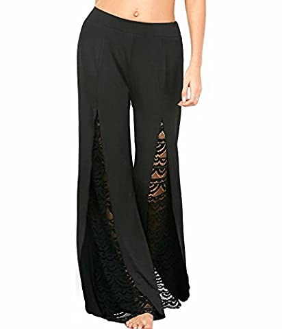 Pantalon Femme Dore - UMilk Femme Pantalon à manches décontracté