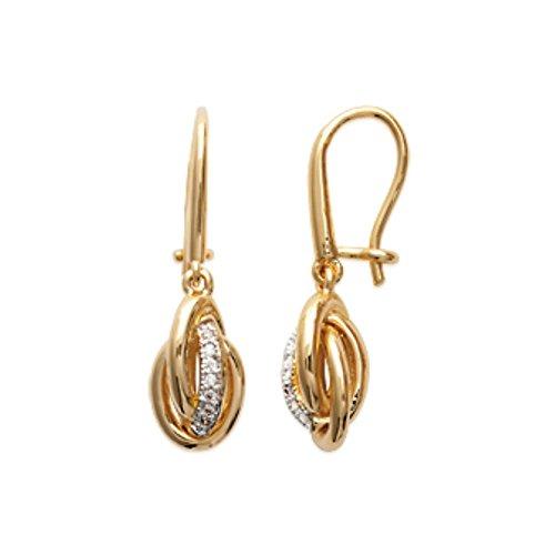 isady-dafalia-gold-donna-orecchini-18-karat-750-oro-giallo-pendenti-zirconia-cubica