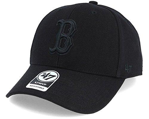 '47 Brand Boston Red Sox MVP Adjustable Baseball Cap Black/Black
