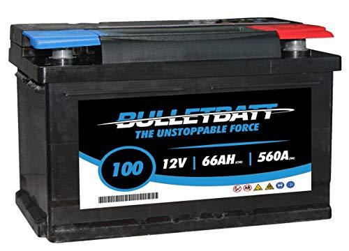 100 BulletBatt Auto Batteria 12V 66Ah