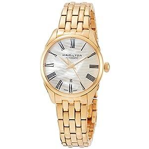 Hamilton H42245191 – Reloj de pulsera para mujer con esfera de nácar,