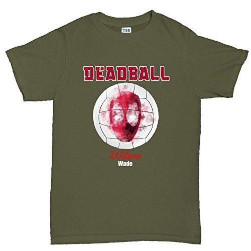 Dead Ball Castaway Mr. Wilson Ball Funny T shirt - Cast Away Wilson Kostüm