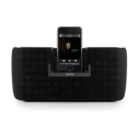 Gear4 PG433 Explorer-SP tragbares Home-Lautsprechersystem für Apple iPod touch/iPod classic/iPod/iPod nano schwarz