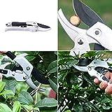 Garden Scissors SK-5 Steel Blade Sharp Anvil Pruning Shears Garden Fruit Tree Pruning Shears Gardening Pruners Grafting Tools