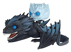 Funko Pop!-28671 Rides: Game of Thrones: Viserion & Night King, Multicolor, Talla Única