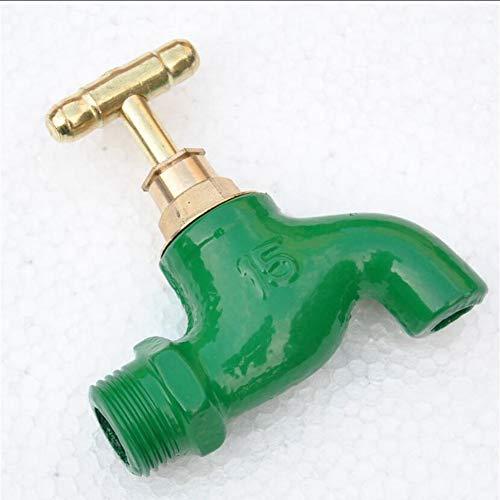 Gusseisen Waschmaschine Wasserhahn einzigen Handgriff Gartenhahn einzigen kalten Wasserhahn -