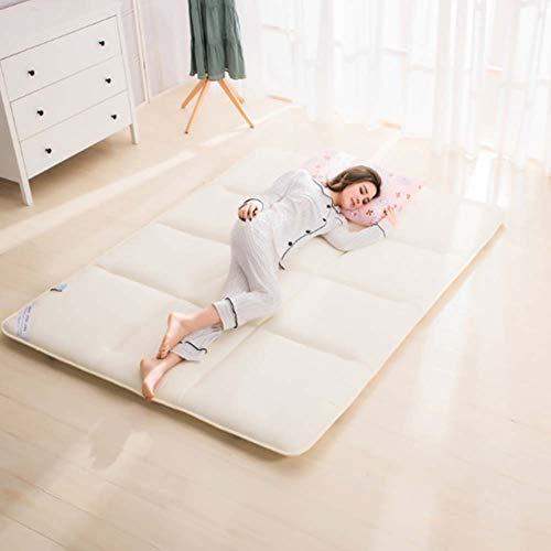 n Schlafen Pad,atmungsaktive Weich Japaner Boden Futon Matratzen,premium Unterbetten,folding Portable Für Wohnheim-c Twin Xl ()