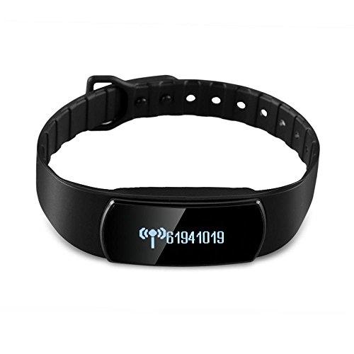 HRT® Promemoria originale del monitor del sonno dell'inseguitore di forma fisica del braccialetto di sport Diggro Bluetooth originale di SH07 Diggro Bluetooth per Android IOS