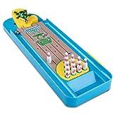 Zzh Puzzle per Bambini Gioco da Tavolo Creativo Mini Bowling Pinball interattivo Gioco da Tavolo Giocattoli