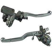 Un par de palanca del cilindro maestro del embrague de freno de la motocicleta para Honda