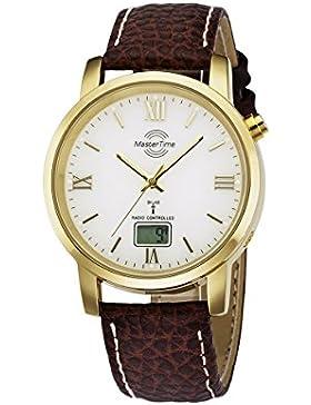 Master Time Funk Basic Series Herrenuhr MTGA-10298-13L, Leder Armbanduhr
