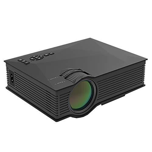YXFYXF Mini-Projektor, Hd-Videoprojektor, Kompatibel Mit Smartphone-Tv-Box FüR Unterhaltung Mit Der Familie Der Heimkinos