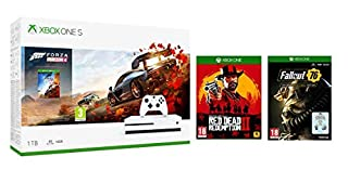 Xbox One S 1TB Forza Horizon 4 + Red Dead Redemption 2 +