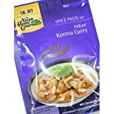 Asian Home Gourmet ~ Würzpaste für indisches Korma Curry 50g