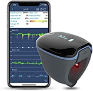 Wellue O2Ring Bluetooth Phone Connection Finger Blood Oxygen Saturation Heart Rate Monitor