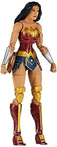 Diamond- DC Comics Figura articulada Wonder Woman, Multicolor, Talla única (NOV180591)