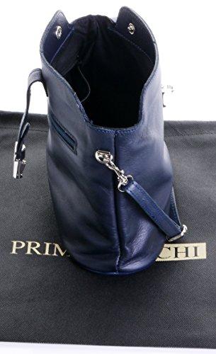 Italienisch Weichleder, Kleine Cross Body oder Umhängetasche Handtasche. Enthält eine Schutzaufbewahrungstasche. Navy blau Leder