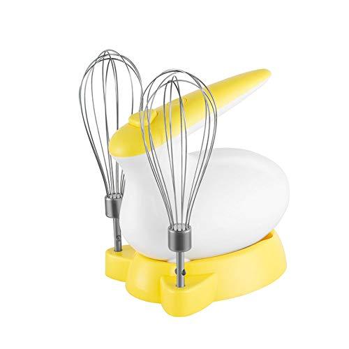 Gaone Mixer Handrührer Elektrischer Handrührgerät Küchenhandmixer Schnurlos Automatische Leistungsanpassung, Stufenlose Inkl. 2 Paar Rührbesen Spülmaschinengeeignet