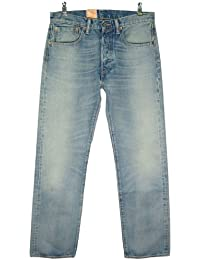 Levi's - Jeans - 501 Original Straight Fit -  Homme - Bleu - FR : W34/L30 (Taille fabricant : W34/L30)