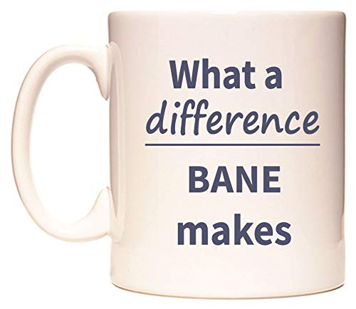 What a difference BANE makes Taza por WeDoMugs