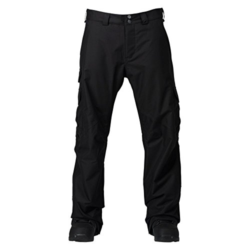 Burton Cargo Pant Snowboard-Herren-Hose, True Black, DE: (Cargo Snowboard Pant)