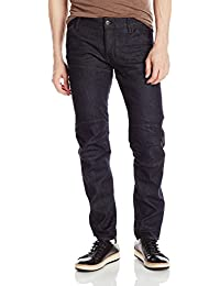 11a9c296d5 G-STAR RAW Men's 5620 Deconstructed 3D Low Tapered Cerro Stretch Jean