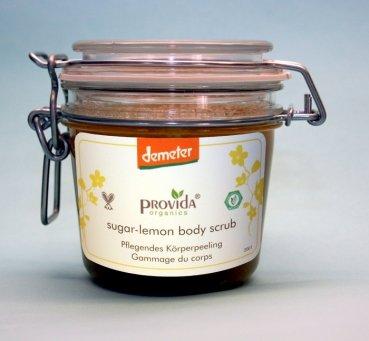 Provida Sugar-Lemon Body-Scrub Demeter 200 ml (Artikel 2001) (Scrub Sugar Lemon)