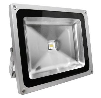 Lumira LED Fluter Scheinwerfer 50 Watt 4400 Lumen Außenstrahler Warmweiß von Lumira auf Lampenhans.de