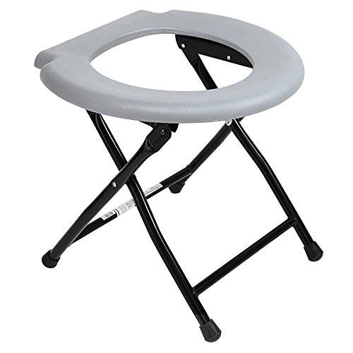 PIGE WC-Sitz/WC/WC Sitz/Bidet Stahlrohr zusammenklappbar ältere Behinderte Schwangere Frau bewegt Kommode Stuhl - Wc-sitz-kommode