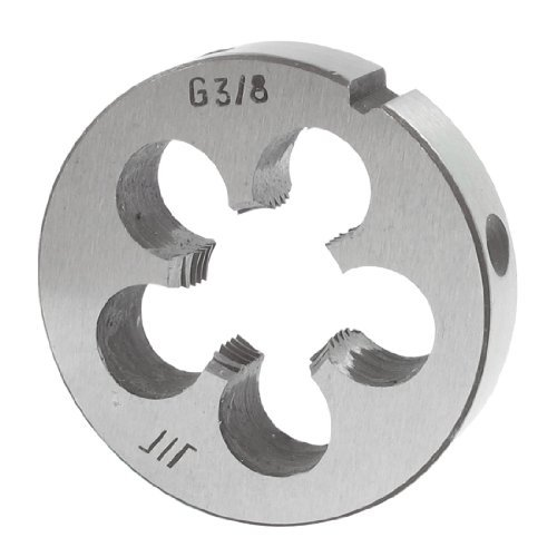 """45 mm Diamètre extérieur 10 mm-Épaisseur : 3/8 """"- Fil Rond Filière à main"""