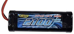 Carson 500608158- BateríaRacing Pack, 2100mAh, NiMH 7.2V
