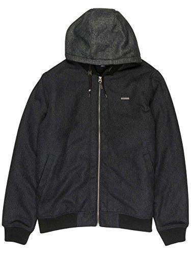 Billabong Futur Proof Jacket Vintage Black dark grey heath