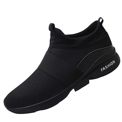 Chaussures de Sports Homme CIELLTE Sneakers Chaussures de Course Baskets Entraînement Multisports Running Fermeture Lacets Sport Fitness