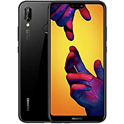 Huawei P20 Lite 64 GB 5.8-Inch FHD+ FullView Android 8.0 SIM-Free Smartphone, Dual SIM, Midnight Black - UK Version