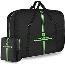 RockBros Bicicleta plegable Bolsa de transporte bicicleta plegable para bicicleta para avión auto 14hasta 20pulgadas Bike Travel Bag con mochila