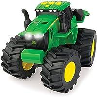 John Deere 46645 Mega Monster Wheels Tractor Preschool Vehicle Toy, 30.2 x 25.1 x 17.3 cm