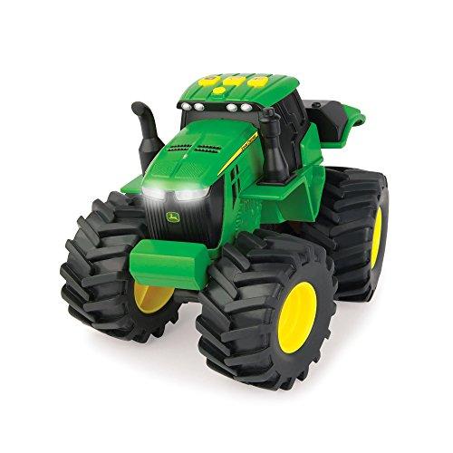 TOMY Monstertruck John Deere Monster Treads Licht & Sound in grün / Spielzeug Auto mit Licht und Sound Effekten - zum Spielen und Sammeln / Ab 3 Jahren (Traktor Spielzeug-autos)