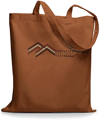 StyloBags Jutebeutel / Tasche Mountain Biking Choco