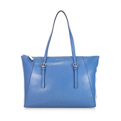 COCCINELLE BORSA DONNA PELLE SAFFIANO MEL A SPALLA COLORE BLUE NECTAR XG5110501239