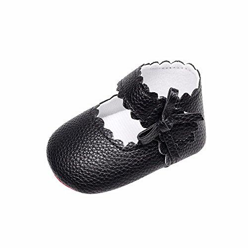e12f3b7287b82 DAY8 Chaussure Bébé Fille Été Princesse Mariage Chaussure Bébé Fille  Premier Pas Bapteme Chic Bowknot Fashion