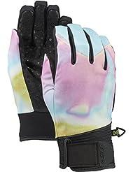 Burton Park Glove–Guantes de snowboard, otoño/invierno, mujer, color Unicorn Tears, tamaño L