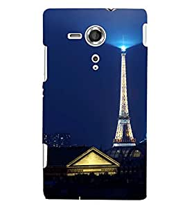 PRINTSWAG TOWER Designer Back Cover Case for SONY XPERIA SP