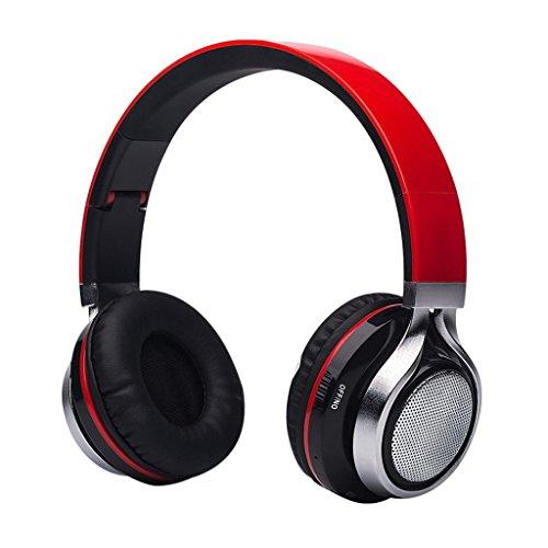 Aita-BT816-Auriculares-Bluetooth-de-Diadema-Plegable-Cascos-Estreo-con-LED-light-FM-Radio-TF-card-Construido-en-llamadas-Inalmbricas-Micrfono-de-Manos-Libres-para-iPhone-PC-Mac-TV-Rojo