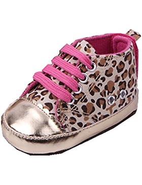 YICHUN bebé Prewalker zapatos de suave Leopard Cuna zapatos zapatillas zapatos de tiempo libre