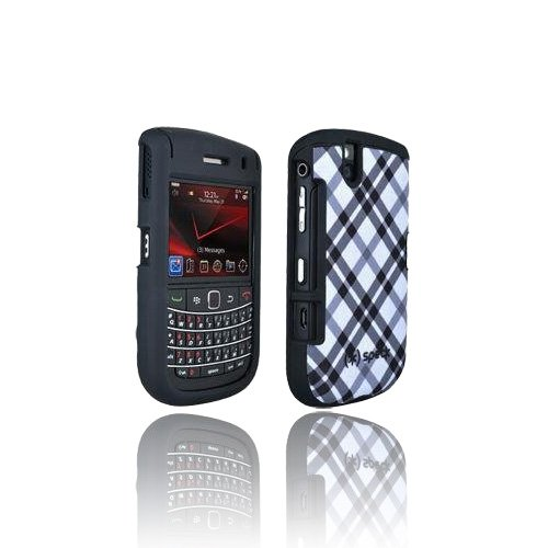 Speck Verizon Blackberry Bold 9650 Zum Aufstecken Ausgestattet Fall Plaid Verizon Blackberry Bold