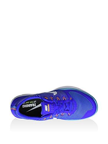 Nike  Free Train Versatility, Sneakers homme Bleu - Azul (Rcr Blue / White-Gmm Bl-Vvd Orng)