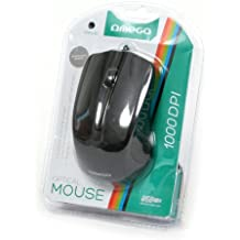 Platinet OM05B - Ratón (USB, Negro, Cable, Ambidextro, Oficina, PC/ordenador portátil)